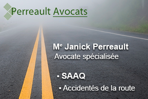 Me Janick Perreault, Avocat - Expertise : accidentés de la route et SAAQ